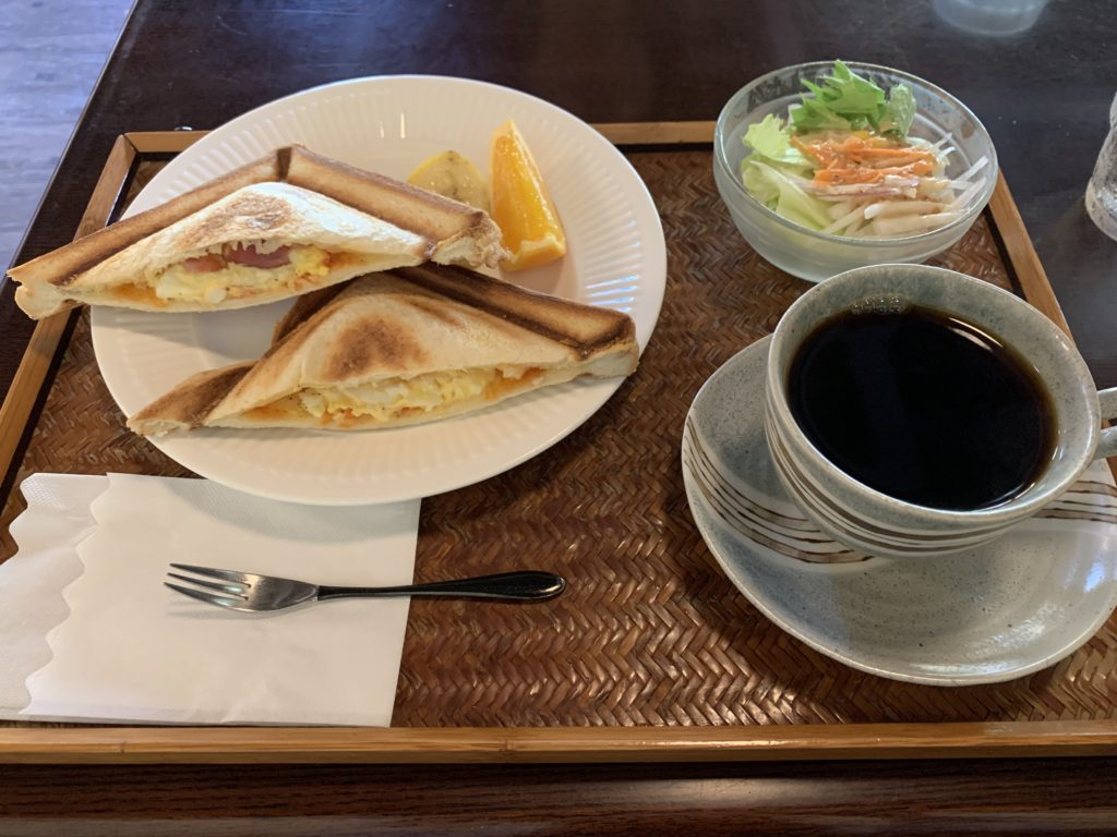 蔵人珈琲ホットサンド