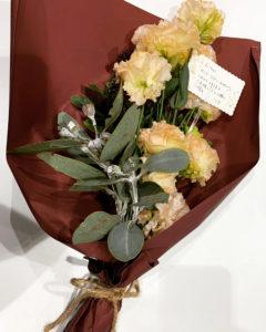お祝いに頂いた花束