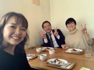 川手直美さん・前田秀隆さんと