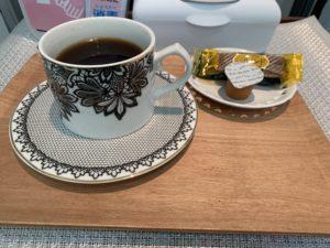 Haruruでのコーヒーータイム