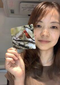 娘のひいたカード